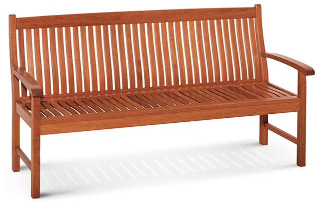Panca in legno di keruing ROBINIA by Regarden
