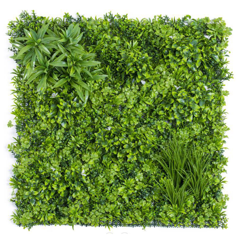 Siepe artificiale GREENWALL in PVC 100 x 100 cm