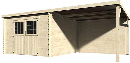 Casetta di legno da giardino sonar