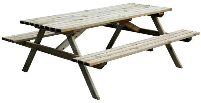 Set tavolo picnic ameral in legno - Tavolo pic nic legno ...