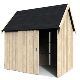 Casetta virgo in legno
