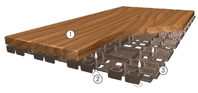 Piatrella 600x300 in legno di frassino Hortus Wood