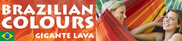 Poltrona sospesa pensile Brazilian colours Gigante Lava