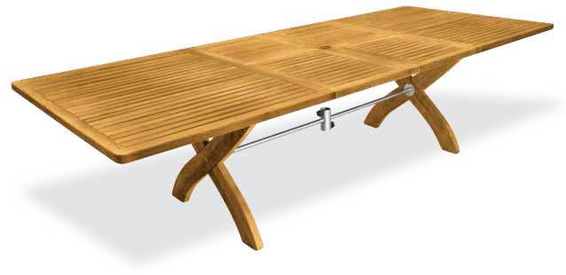 Tavoli in teak arredo - Tavoli da giardino in legno teak ...