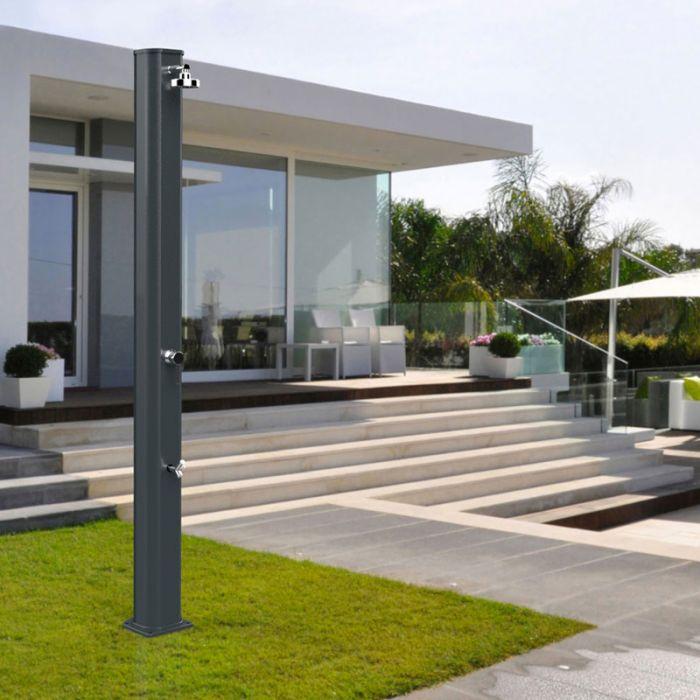 Doccia solare big jolly 40 litri con miscelatore e - Doccia da giardino solare ...