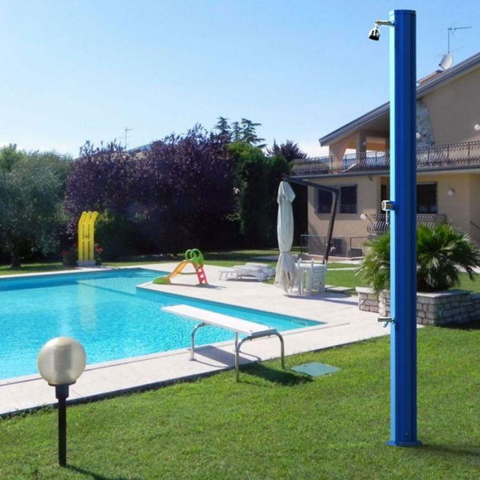 Doccia solare per piscina big jolly temporizzatore e - Doccia per giardino ...
