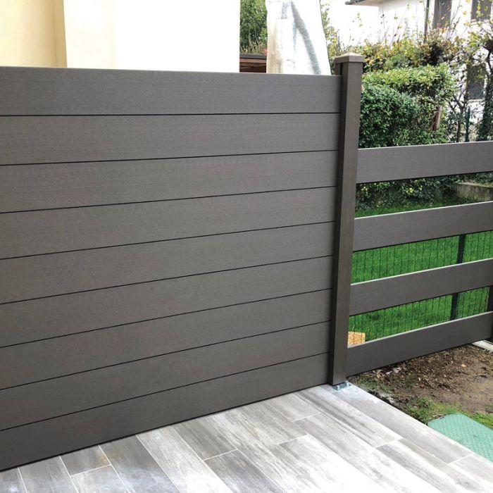 Recinzione in WPC legno Composito da esterno  Arredo-Giardino.com