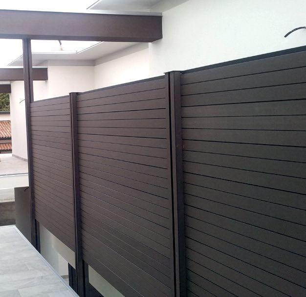 Listone in wpc bamboo legno composito per rivestimenti - Legno composito per esterni ...