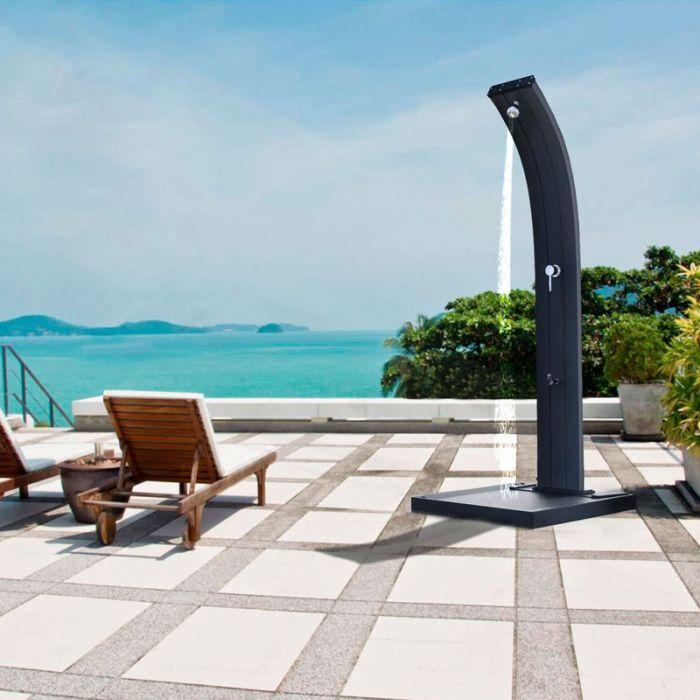 Doccia solare per piscina dada 40 litri miscelatore e - Doccia solare giardino ...