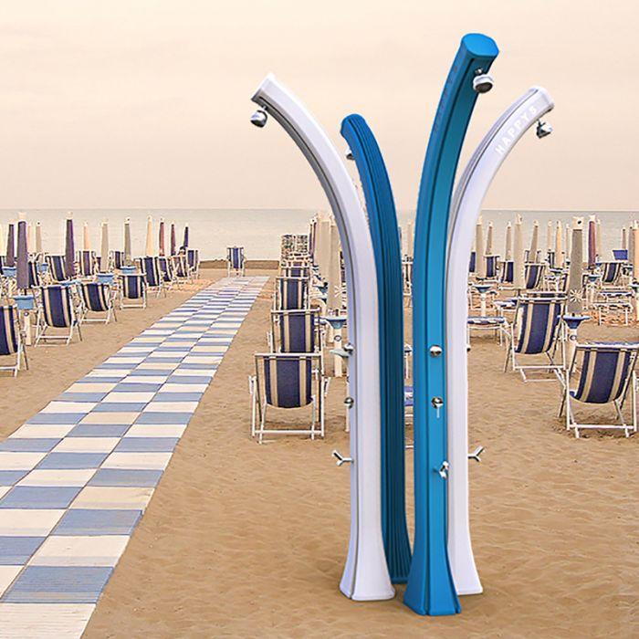 Doccia solare happy beach 28 litri temporizzatore for Temporizzatore da giardino