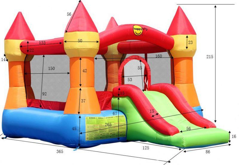 Castello gonfiabile per bambini TOWERS da esterno  Arredo-Giardino.com
