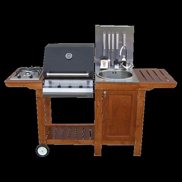 Cucina da esterno barbecue mod iottichef2 arredo - Cucina da giardino ...