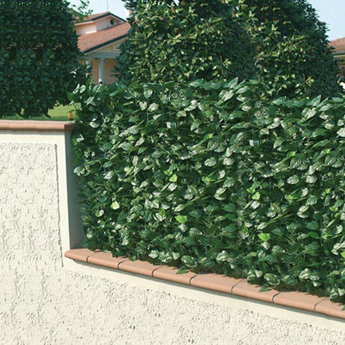 recinzione giardino arredo giardino : ... in PVC da esterno con foglie di Lauro L 300 cm Arredo-Giardino.com