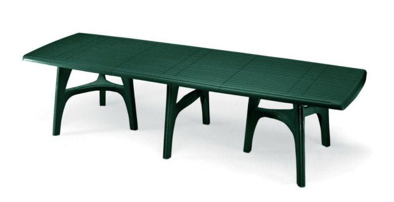 Tavolo da giardino president 3000 in resina allungabile by scab arredo - Tavolo di plastica da giardino ...