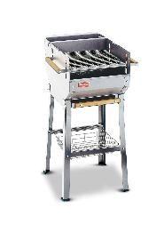 Barbecue a carbonella italy inox con ampio cassetto - Bracieri per esterno ...