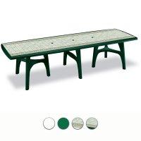 Tavoli Da Esterno In Plastica Allungabili.Tavolo Da Giardino President 3000 In Resina Allungabile By