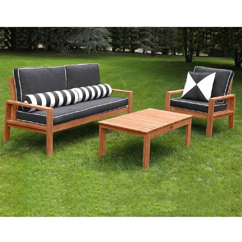 Salotto Da Giardino In Legno External Design : Salotto giardino legno idee per il design della casa
