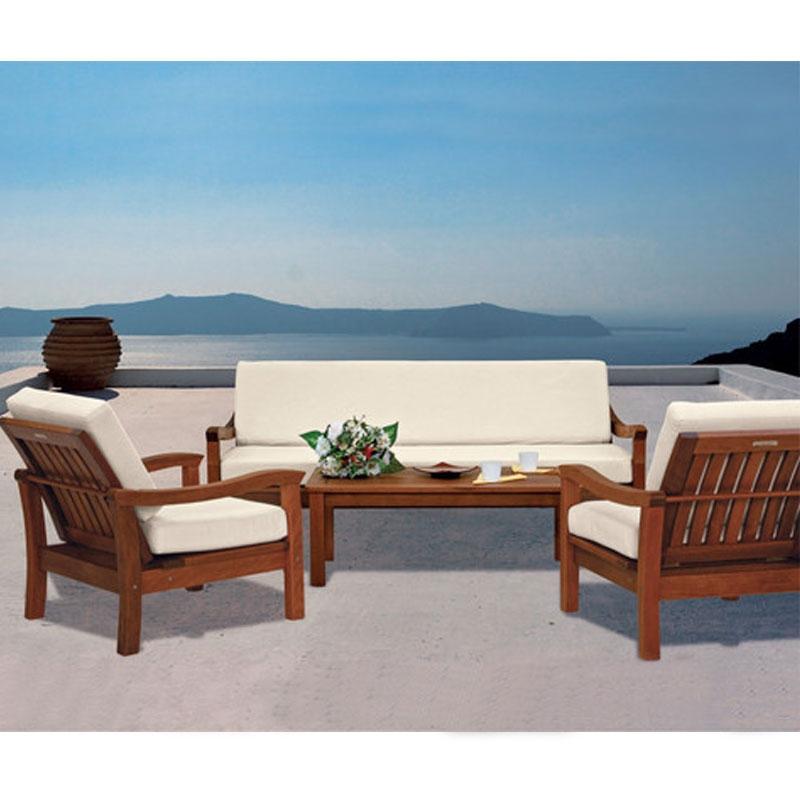 Salotto giardino legno idee per il design della casa - Salotto per giardino ...