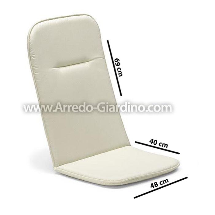 Cuscini per sedie da esterno sanotint light tabella colori - Cuscini per poltrone da giardino ...