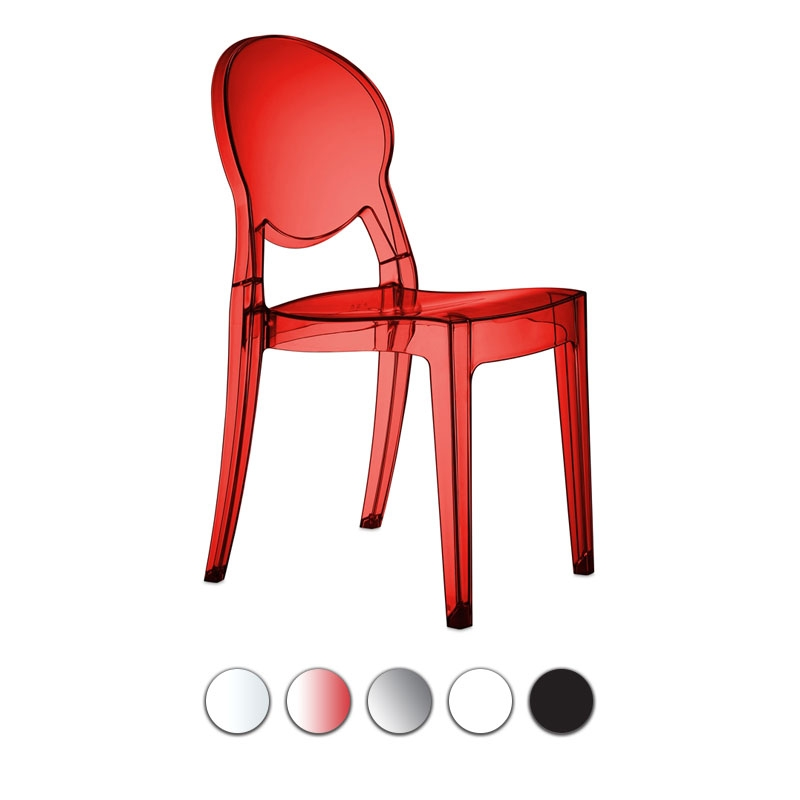 Sedia IGLOO CHAIR in policarbonato by Scab