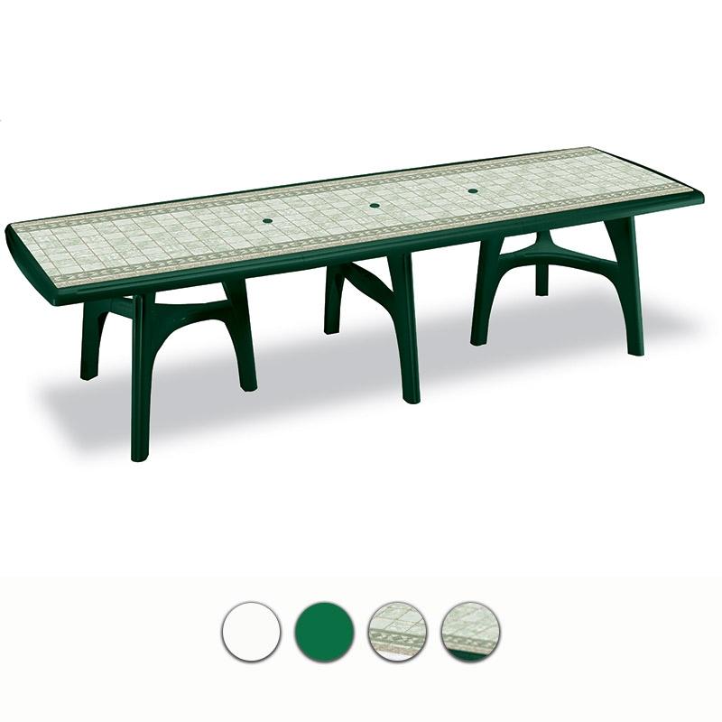 Tavoli Da Esterno Plastica Allungabili.Tavolo Da Giardino President 3000 In Resina Allungabile By Scab