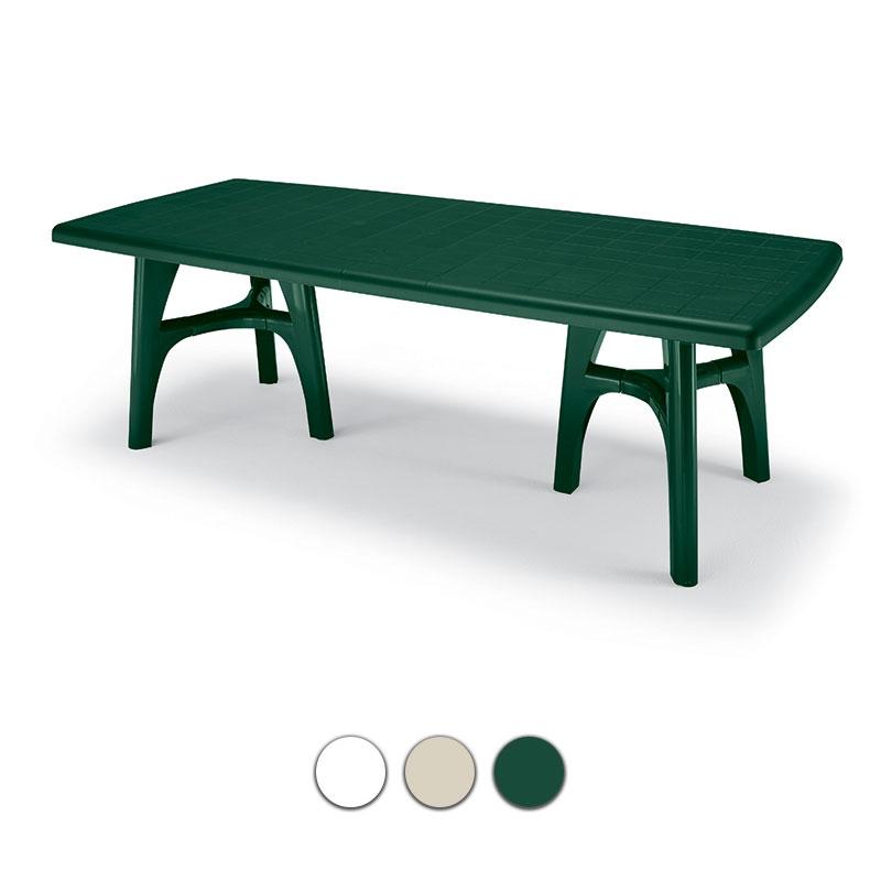 Tavoli Da Esterno Plastica Allungabili.Tavolo Da Giardino President Tris In Resina Allungabile By Scab