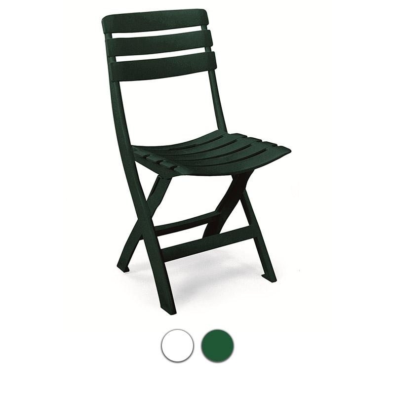 Sedie Plastica Pieghevoli Da Giardino.Sedia Pieghevole Da Giardino Queen Senza Braccioli In Resina By