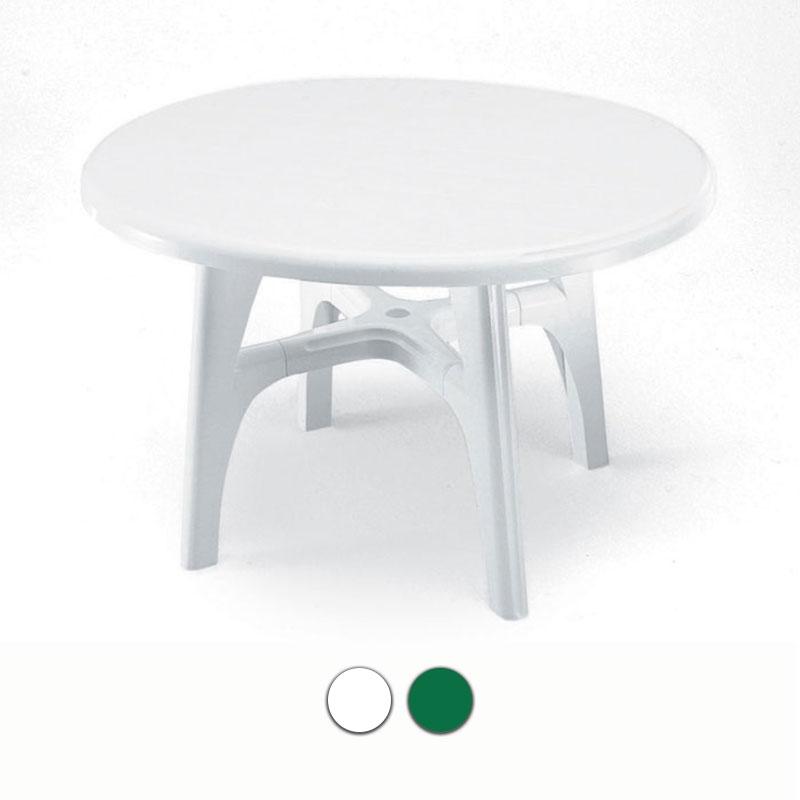 Tavolo da giardino ovolino in resina by scab arredo for Tavoli da giardino in resina