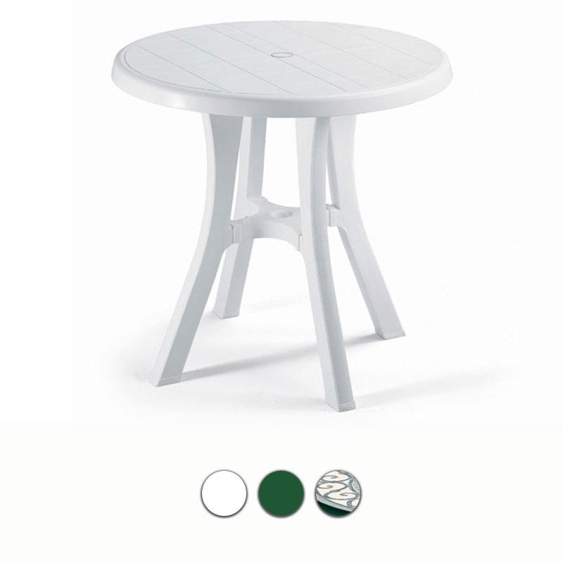 Tavolo da giardino pol 80 contract in resina by scab for Tavoli da giardino in resina