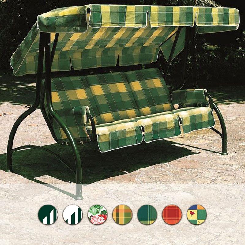 Dondolo Scab 4 Posti.Dondolo 4 Posti Splendido In Acciaio Verde E Diverse Fantasie By