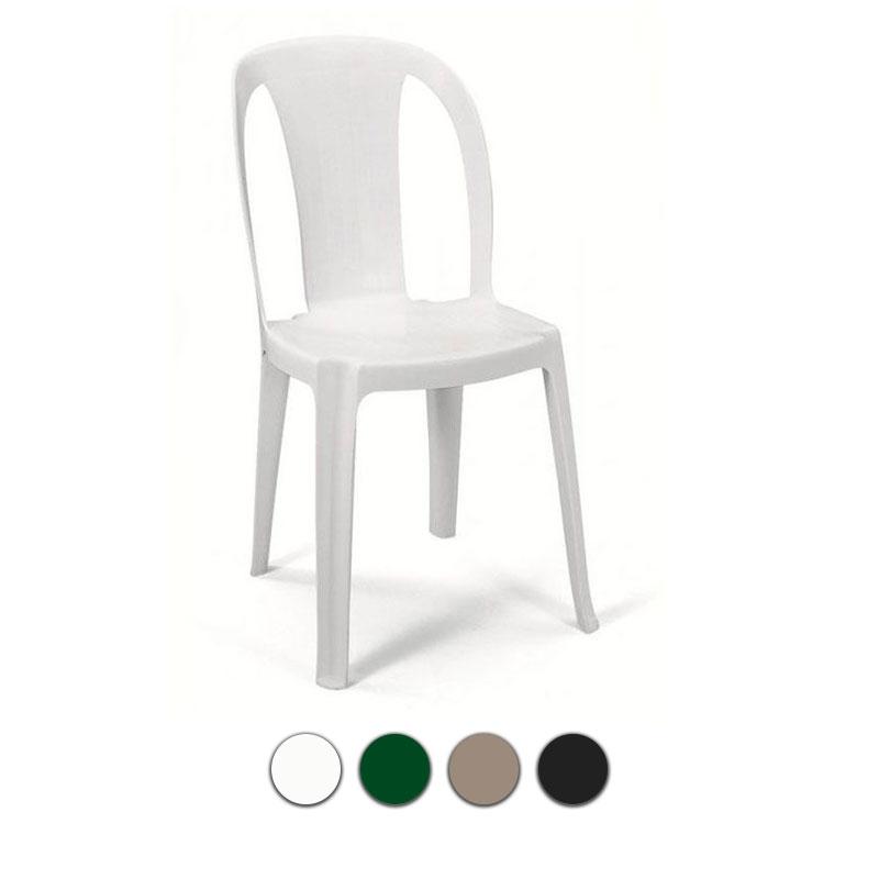 Poltrona sedia monoblocco tiuana in resina by scab - Sedie in resina da giardino ...