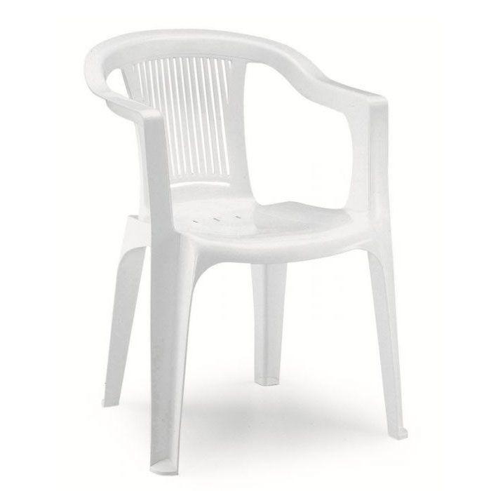 Poltrona sedia monoblocco super giada in resina by scab - Sedie in resina da giardino ...