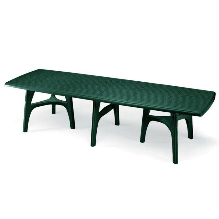 Tavolo da giardino PRESIDENT 3000 in resina allungabile by Scab ...