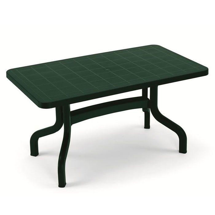Tavoli Da Terrazzo In Plastica.Tavolo Da Giardino Ribalto 140 X 80 Contract In Resina By Scab
